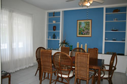 Southern View House Dining Area